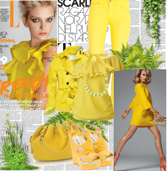 Yellow fashion: la moda si tinge di giallo!