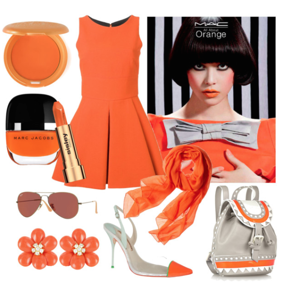 all about orange - Polyvore (20150421)