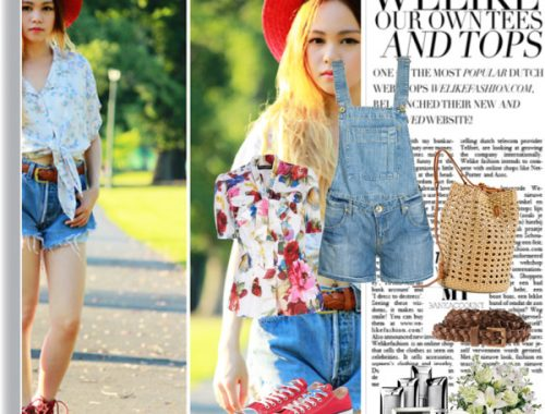 denim overall how to wear it